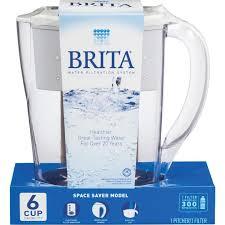 Buy Brita Space Saver Water Filter Pitcher