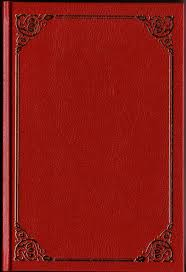 clic red book cover texture