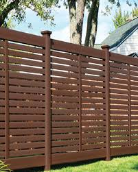 brown vinyl fence panels. Brown Vinyl Fence Panels Breezewood Select Cedar . E