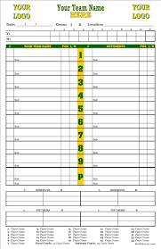 Baseball Chart Ballcharts Baseball Dyo Dugout Charts