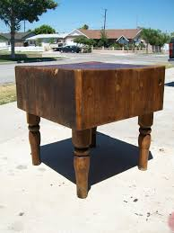 Antique Kitchen Work Tables Old Time Stand Alone Butcher Block Carpentry Contractor Talk