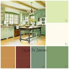 Ideas For Rustic Farmhouse Or Country Style Kitchen Cabinets Benjamin Moore  Guilford Green And Otherrs Are  Country Style Paint Colors Sherwin  Williams ...