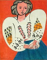 Rumanian Blouse By Henri Matisse