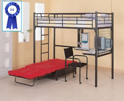 Twin Over Futon Bunk Bed | Full Size Bunk Bed with Desk | Bunk Beds for