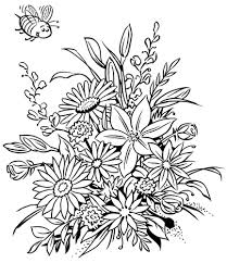 coloring book flowers 24902 flower coloring book pages