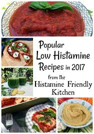 most por low histamine recipes in