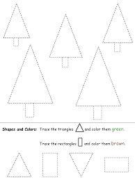 Triangles and Rectangles