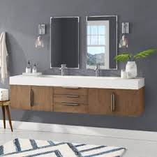 modern bathroom vanity. Brilliant Modern Hukill 73 Intended Modern Bathroom Vanity