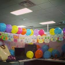 office birthday decorations. birthday cubicle decorating ideas - bing images office decorations c