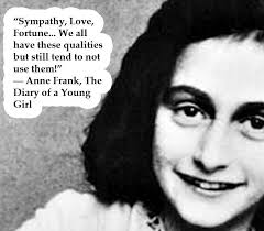 Anne Frank Quotes At Cbs Pinterest Anne Frank Anne Frank Adorable Anne Frank Quotes