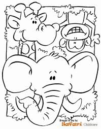 The Most Incredible Safari Animals Coloring Pages pertaining to ...