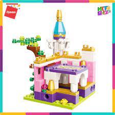 Bộ Đồ Chơi Xếp Hình Thông Minh Lego Cho Bé Gái Qman Lâu Đài Hoa Đại Dương  Hộp Lẻ 2613 Cho Trẻ chính hãng 130,000đ