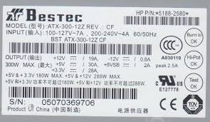 bestec atx 300 12z review ATX Plug Diagram at Bestec Atx 300 12e Wiring Diagram