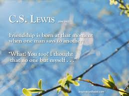 Cs Lewis Quotes On Friendship Simple C S Lewis Friendship Quotes Inspiration Boost Inspiration Boost