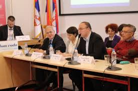 in the meeting the survey conducted by the cep and european movement in serbia and 12 more partner organisation was presented this survey was funded by