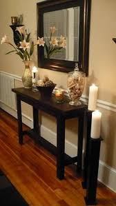 decorate narrow entryway hallway entrance. DIY Console Table Project. Hallway TablesNarrow Entryway TableEntry Decorate Narrow Entrance C