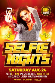 Selfie Party Flyer Template Download - Xtremeflyers