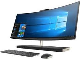 HP Curved All-in-One Computer ENVY 34-b110 Intel Core i7 8th All-In-One Computers and Desktops - Newegg.com