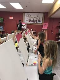 photo of painting with a twist tampa fl united states painting with