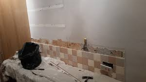 How To Remove Kitchen Tiles Kitchen Tile Splashback Handy David