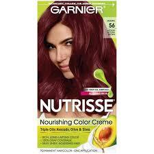 Garnier Nutrisse Nourishing Hair Color Creme Reds 56 Medium Reddish Brown Sangria 1 Kit