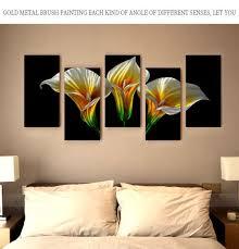beautiful flower metal wall art wall