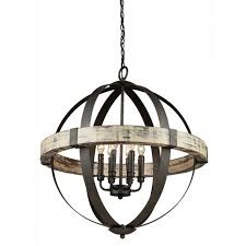 lighting inspiring sphere chandelier for home interior