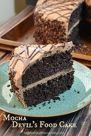 Mocha Devils Food Cake