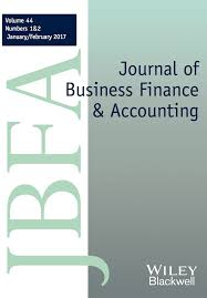 template for submissions to journal template for submissions to journal of business finance amp