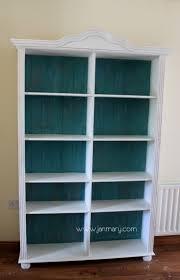 Best 25 Pine Bookcase Ideas On Pinterest Pertaining To Painted Bookshelf  (#5 of 15