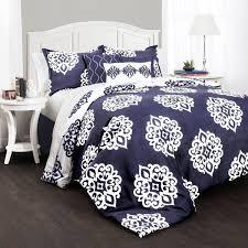 patterned comforter sets bed linen astonishing navy blue bedding king size 8