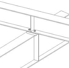 Beam To Beam Framing Connections Tekla User Assistance