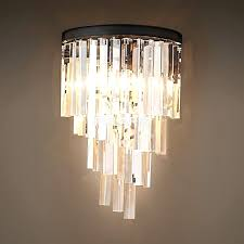 crystal chandelier wall sconces lightings and lamps ideas intended for incredible residence wall sconce chandelier designs