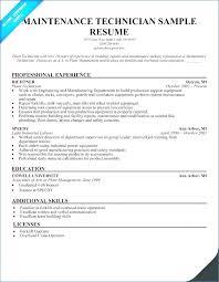 Service Technician Resume Sample Igniteresumes Com