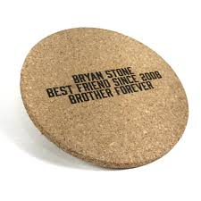 Custom cork coasters Coasters Set Youtube 4