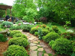 Lawn & Garden:Admirable Japanese Garden Design With Stone Pathway Ideas  Admirable Japanese Garden Design