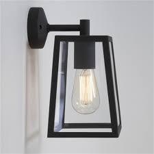 calvi outdoor wall light black 1306001 7105