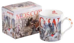 <b>Gift'n'Home Кружка гигант</b> подарочная Москва -Сити 700 мл ...
