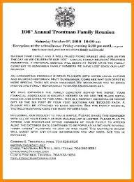 Printable Letter Templates 6 Family Reunion Letters Template Free Printable Letter Templates