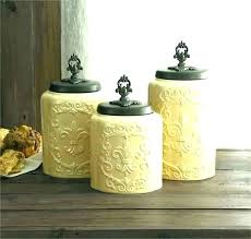 glass kitchen canisters for rustic food containers with lids uk