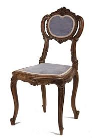 french vanity chair 19th c french renaissance revival