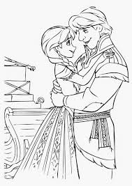 Frozen Coloring Pages Anna Free Printable