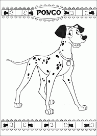 Small Picture 101 Dalmations Coloring Pages