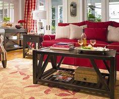 red living room nice casual and comfortable want red furniture casual living room lots