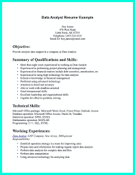 Resume For Analyst Job Data Analyst Resume Will Describe Your Professional Profile 9