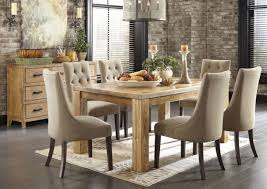 spectacular dining room sets with upholstered chairs improving cozy interior impression captivating contemporary dining room