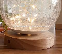 Crackle Glass Light Buy Crackle Touch Table Lamp Crackle Glass Table Reading
