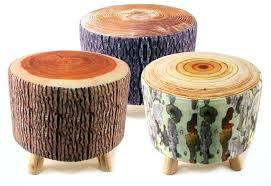 small ottoman stool. Small Ottoman Stool Creative Wood Flannelette Sofa Bar With Regard To Footstool Idea . N