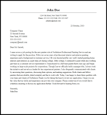 Free Cover Letter Examples For Every Job Search Best Ideas Of Cover