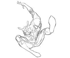 Small Picture The Amazing Spider Man Coloring Pages Miakenasnet